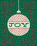 Jolly Holiday Ornaments Joy