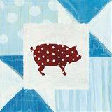 Modern Americana Farm Quilt I