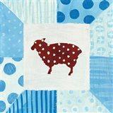 Modern Americana Farm Quilt II