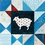 Modern Americana Farm Quilt VI