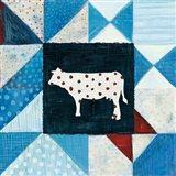 Modern Americana Farm Quilt VIII