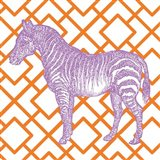 Bright Menagerie Zebra