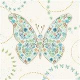 Flutterby Blooms I