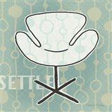 Retro Chair IV Settle