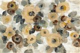 Neutral Floral Beige I