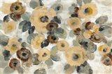 Neutral Floral Beige I