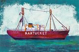 Nantucket Lightship Blue Green