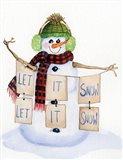 Snowman Saying II