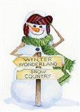 Snowman Saying III