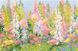 Garden Pastels I Blue Sky