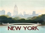City Skyline New York Horizontal