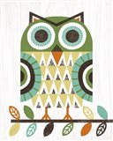 Folk Lodge Owl Earth