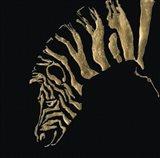Gilded Zebra on Black