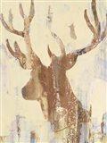 Golden Antlers II Neutral Grey
