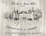 Chateau Chambort on Wood