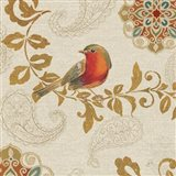 Bird Rainbow Red