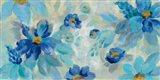Blue Flowers Whisper I