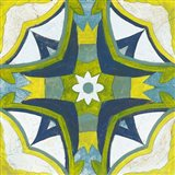Andalucia Tiles E Blue and Yellow