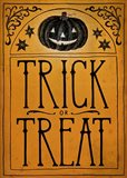 Vintage Halloween Trick or Treat