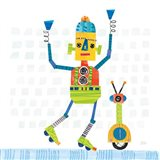 Robot Party I on Square Toys