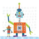 Robot Party III on Square Toys