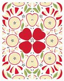 Retro Apple Otomi