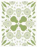 Retro Pear Otomi Monotone