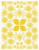 Retro Lemon Otomi Monotone