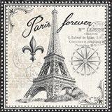 Bonjour Paris III Dark