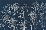 Indigo Floral I