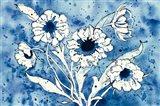 Batik Flowers Crop