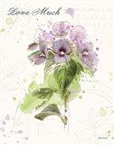 Floral Splash III Love Much