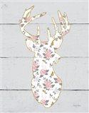 Floral Deer I
