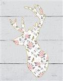 Floral Deer II