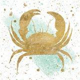 Silver Sea Life Aqua Crab