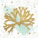 Silver Sea Life Aqua Coral