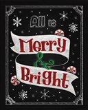 Christmas Chalkboard II