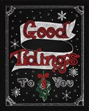 Christmas Chalkboard IV