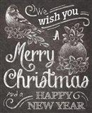 Chalkboard Christmas Sayings I