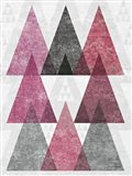 Mod Triangles IV Soft Pink