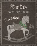 Chalkboard Christmas Signs I