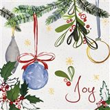 Watercolor Christmas I