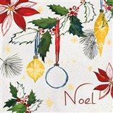 Watercolor Christmas IV