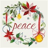 Watercolor Christmas VII