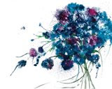 Blue Bouquet Crop