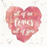 Happy Hearts I Pink
