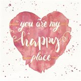 Happy Hearts II Pink