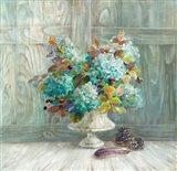 Rustic Florals Blue
