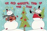 Snowman Sentiments I