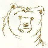 Gilded Brown Bear